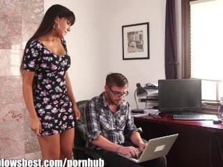 MommyBB Busty MATURE MOM fucking the young computer wiz!