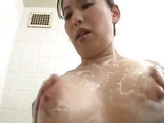 Kirishima Ayako milf beauty have sex with young guy